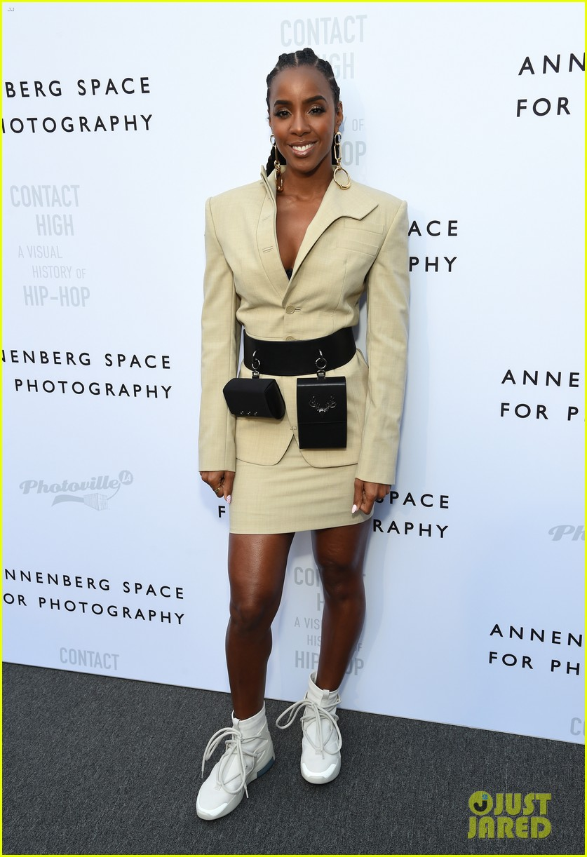 kelly rowland tina knowles richard lawson at annenberg space for photographys anniversary 184278174