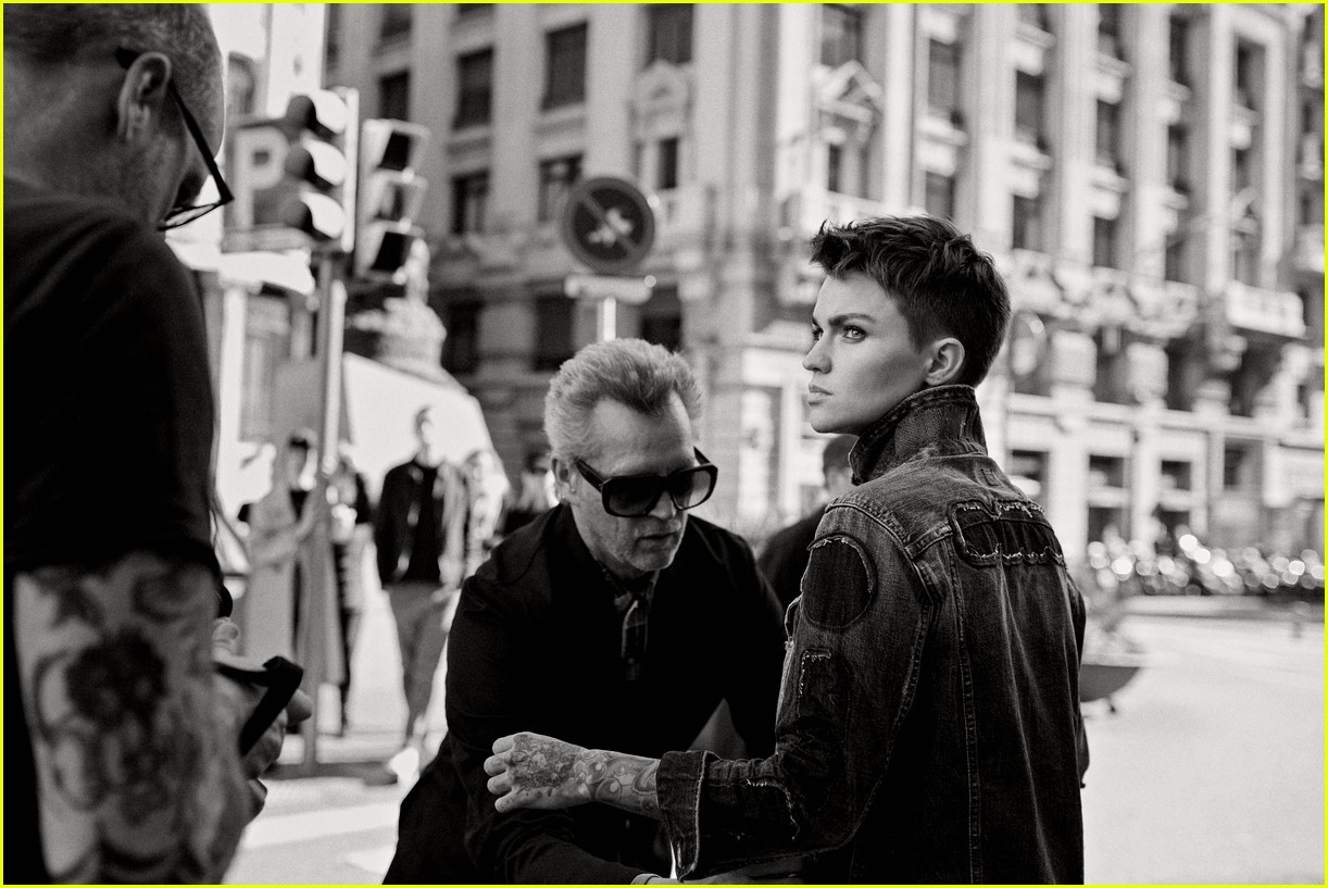 Ruby Rose Named The New Face Of G-Star RAW! : Photo