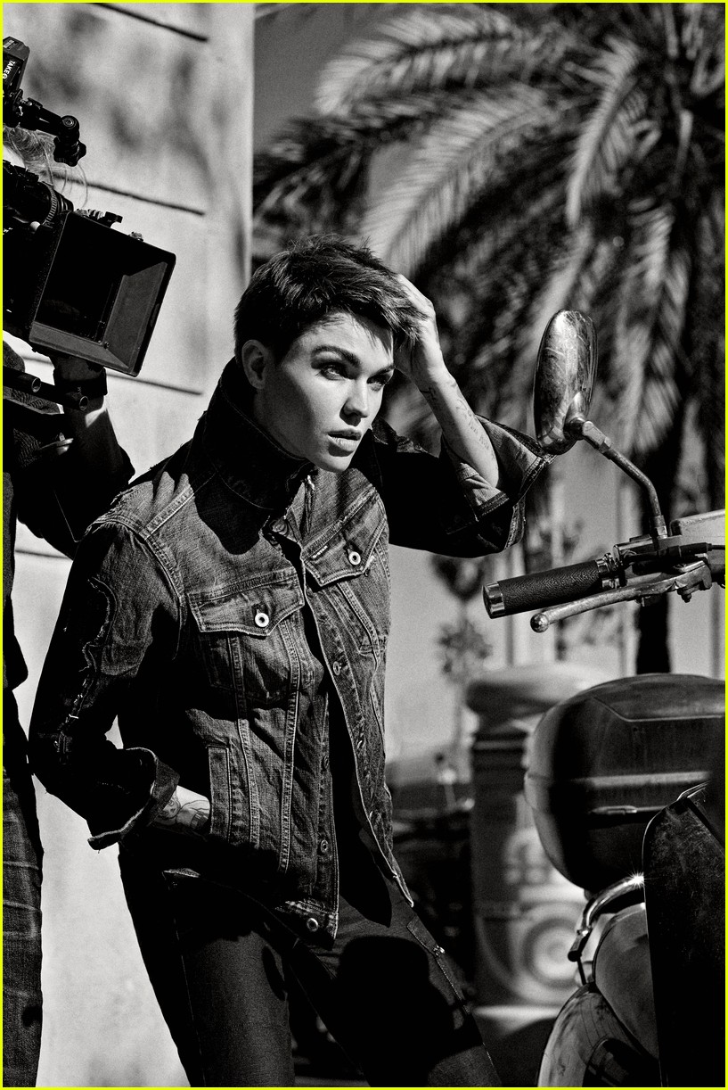 ruby rose g star raw spring summer 2019 campaign 05