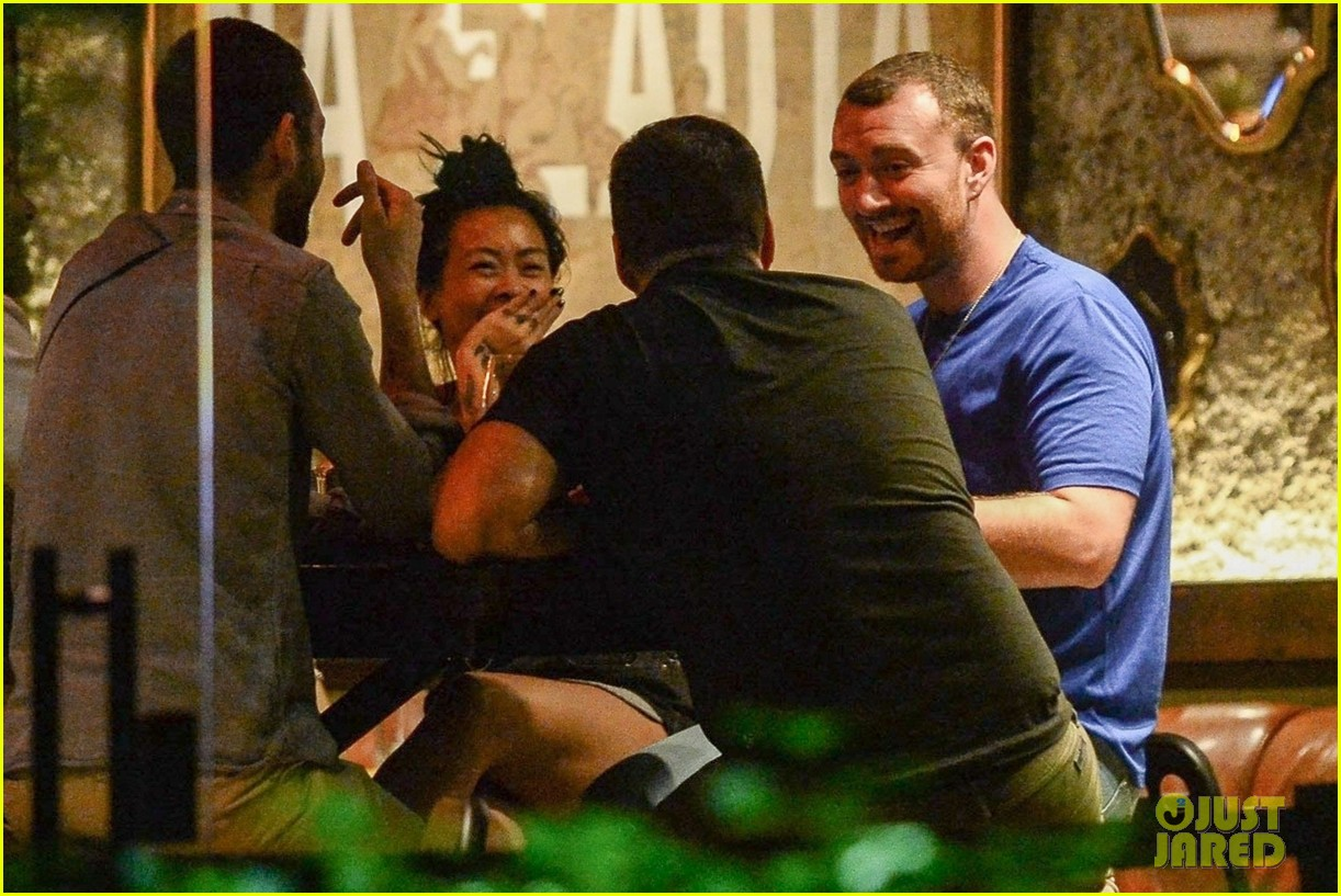 sam smith vacations with friends in sao paolo 05