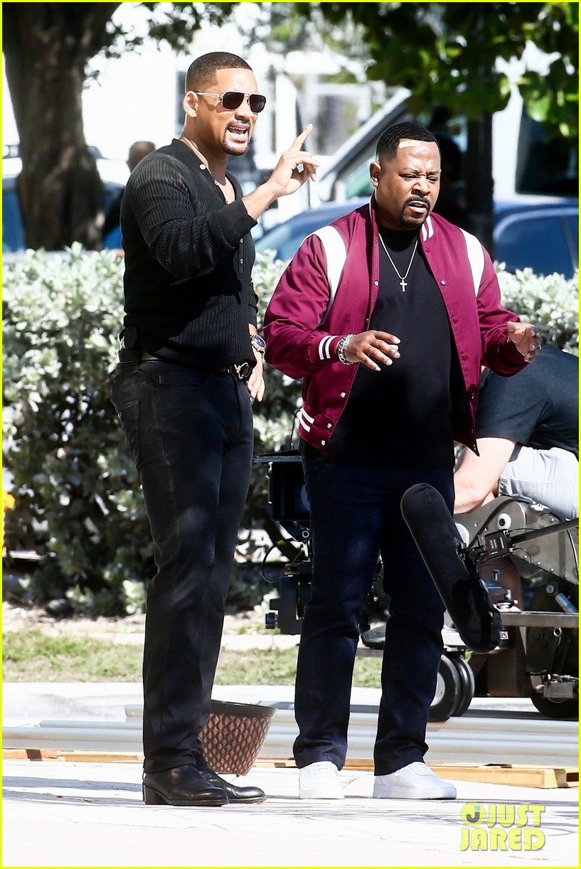 will smith shoots a bad boys action scene martin lawrence 03