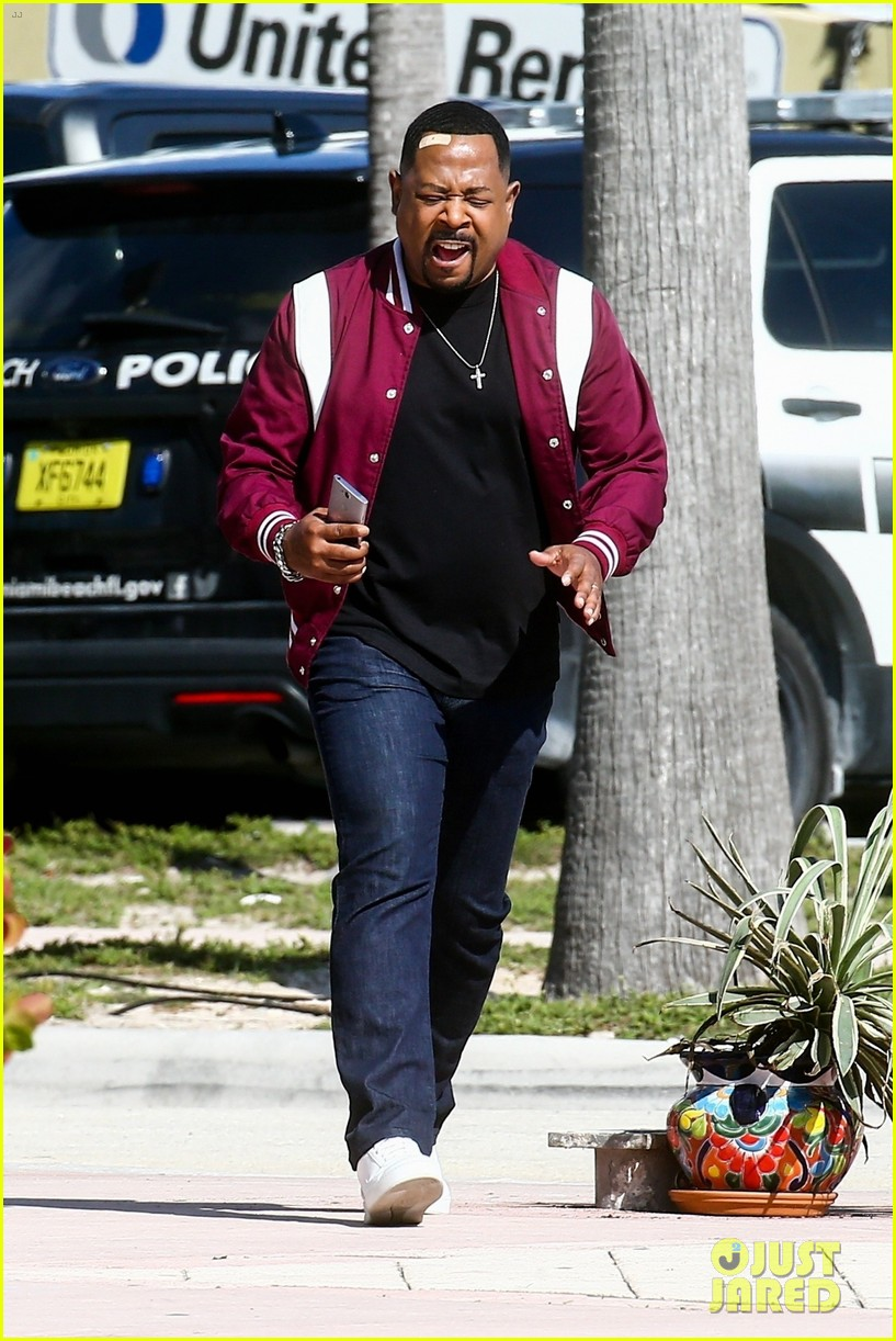 will smith shoots a bad boys action scene martin lawrence 05