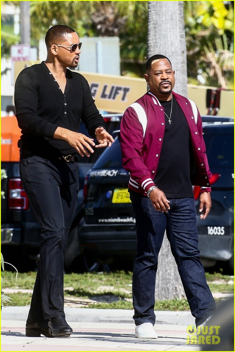 will smith shoots a bad boys action scene martin lawrence 09