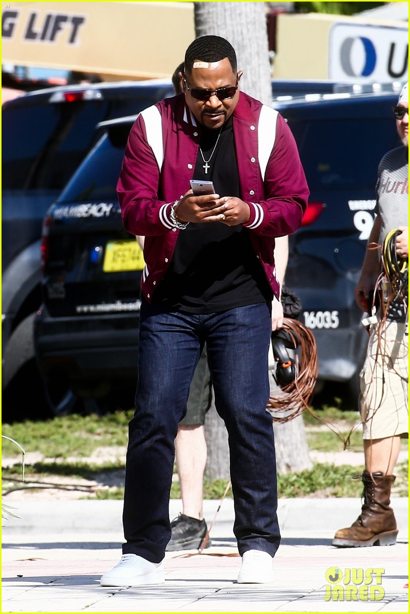 will smith shoots a bad boys action scene martin lawrence 11