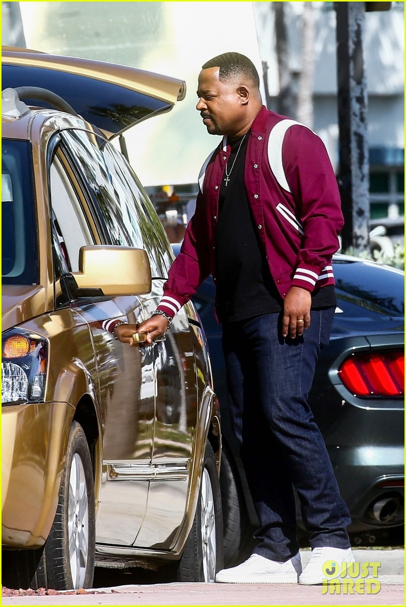 will smith shoots a bad boys action scene martin lawrence 13