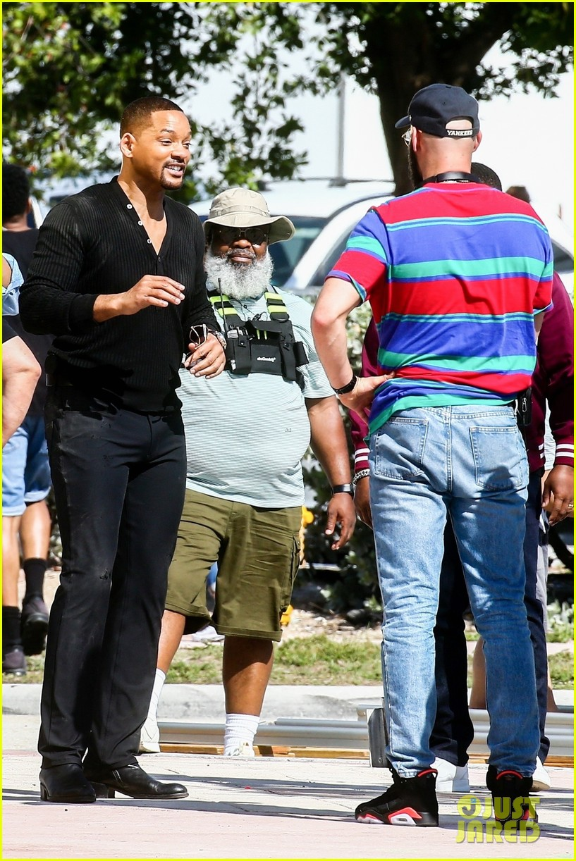 will smith shoots a bad boys action scene martin lawrence 14