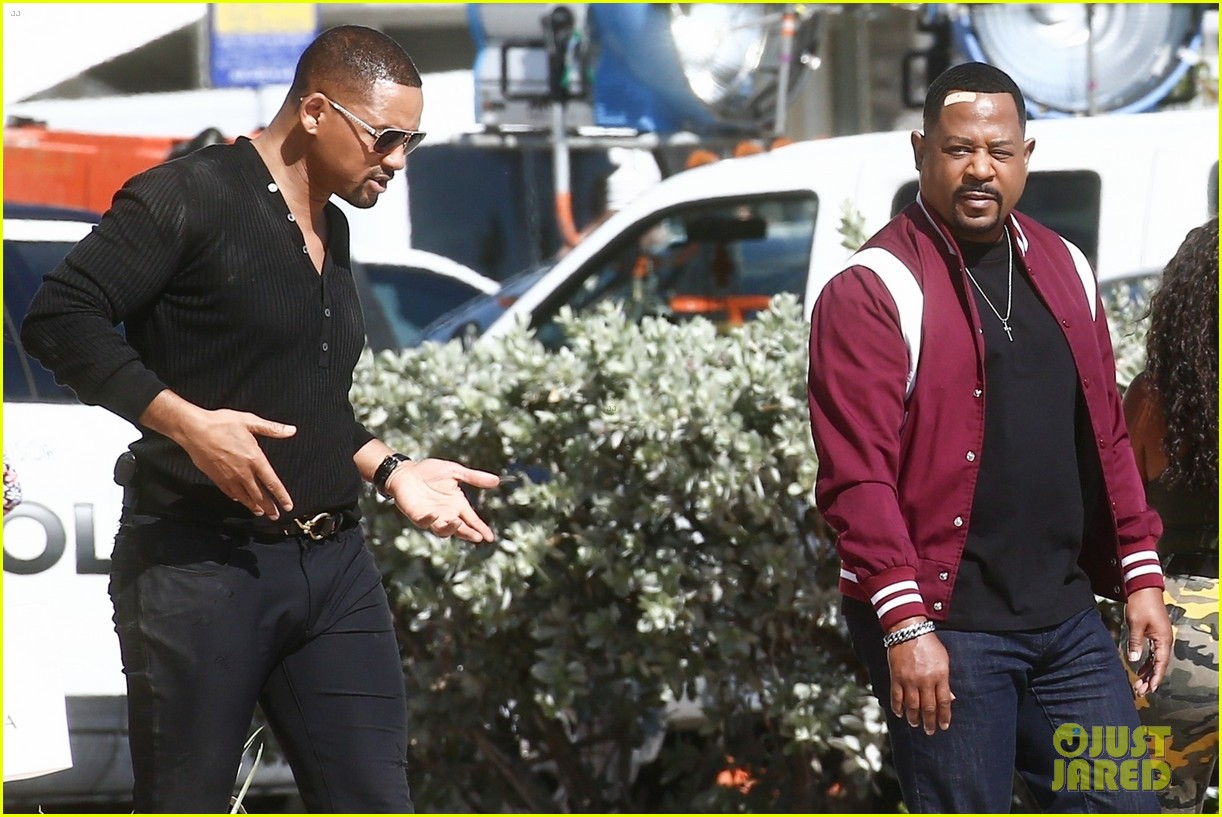 will smith shoots a bad boys action scene martin lawrence 19
