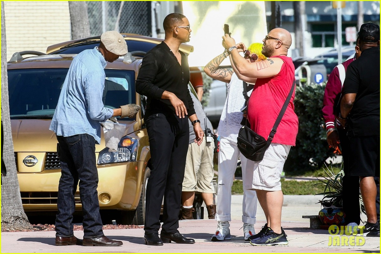 will smith shoots a bad boys action scene martin lawrence 23