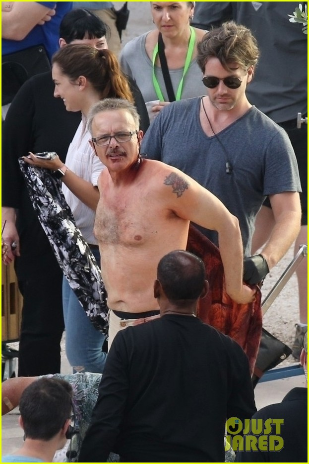 will smith shirtless joe pantoliano bad boys set 08