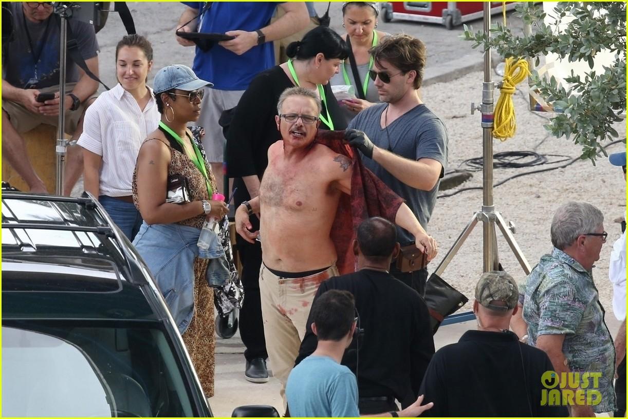 will smith shirtless joe pantoliano bad boys set 09