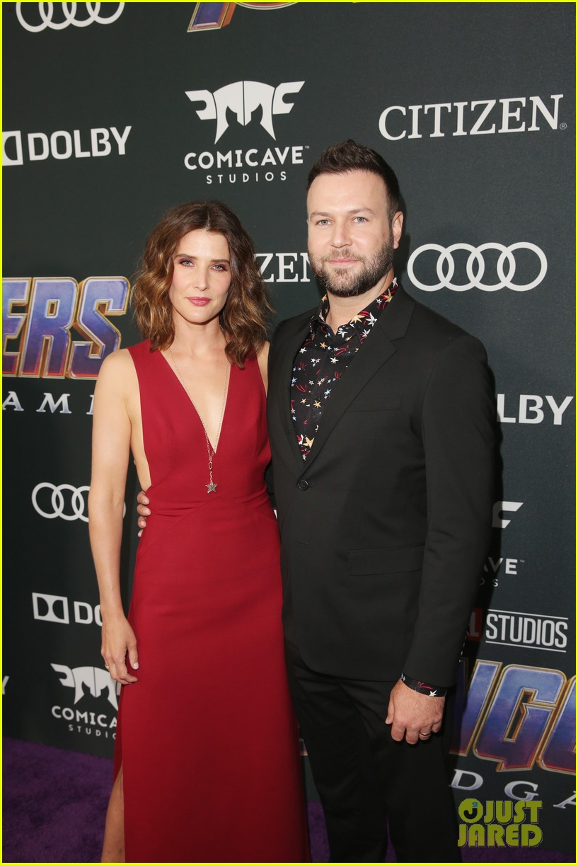 cobie smulders linda cardellini more step out for avengers endgame premiere 06