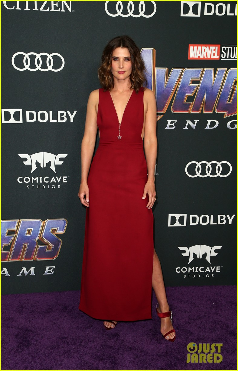 cobie smulders linda cardellini more step out for avengers endgame premiere 20
