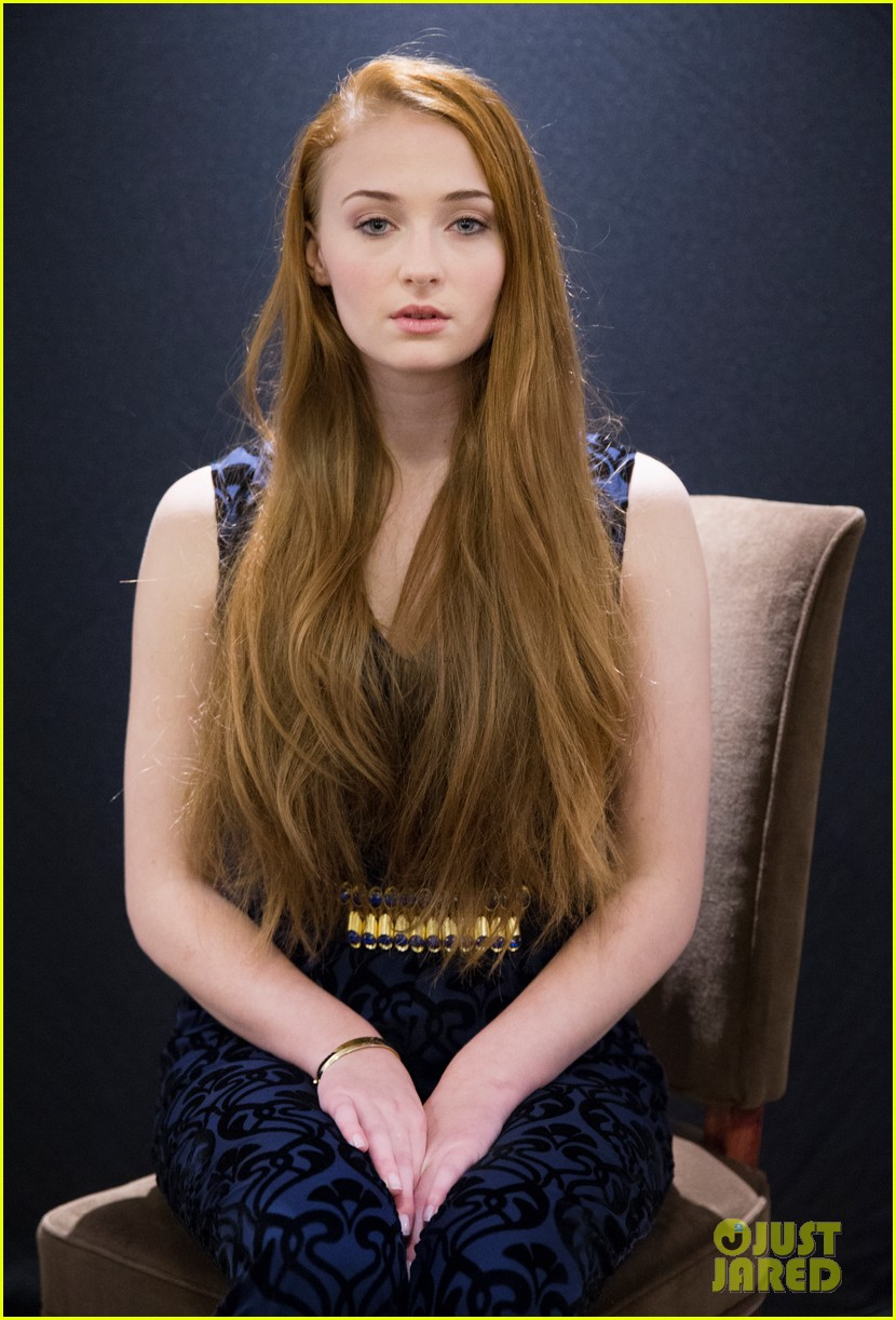 sophie turner hair style evolution 10