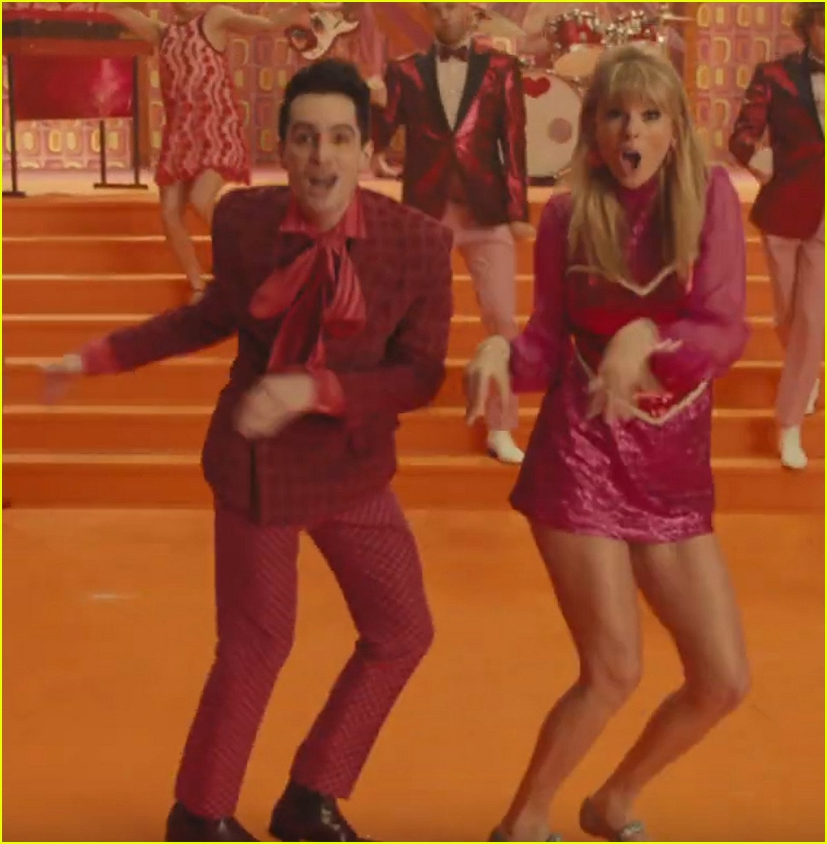 taylor swifts 7 me music video outfits see them all here 044278017