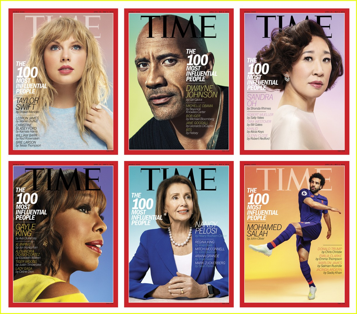 time 100 most influential people 2019 covers 07