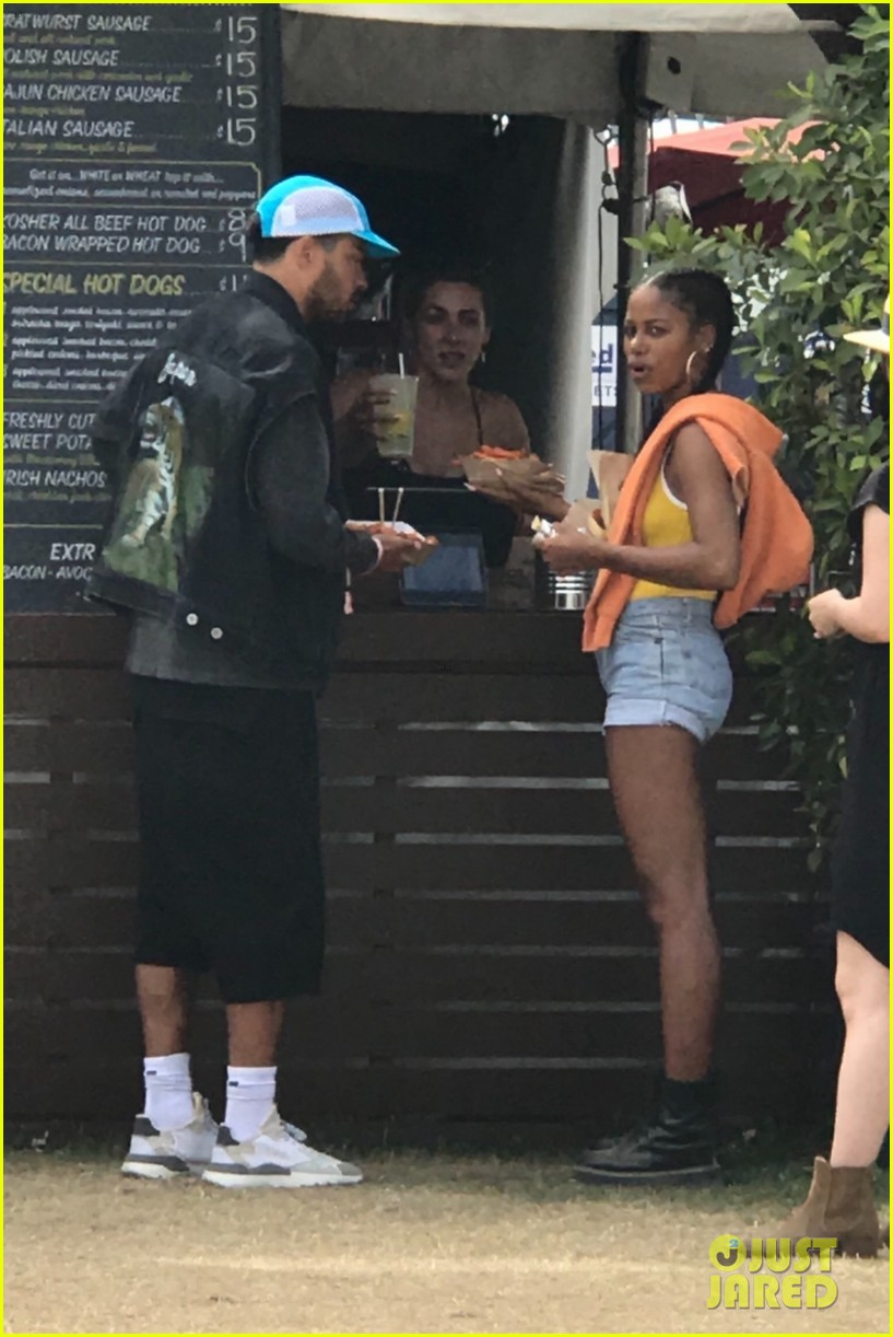 jesse williams taylour paige coachella 2019 weekend two 014275629