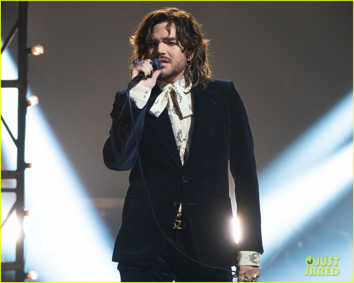 Adam Lambert Performs New Song New Eyes On American Idol Finale