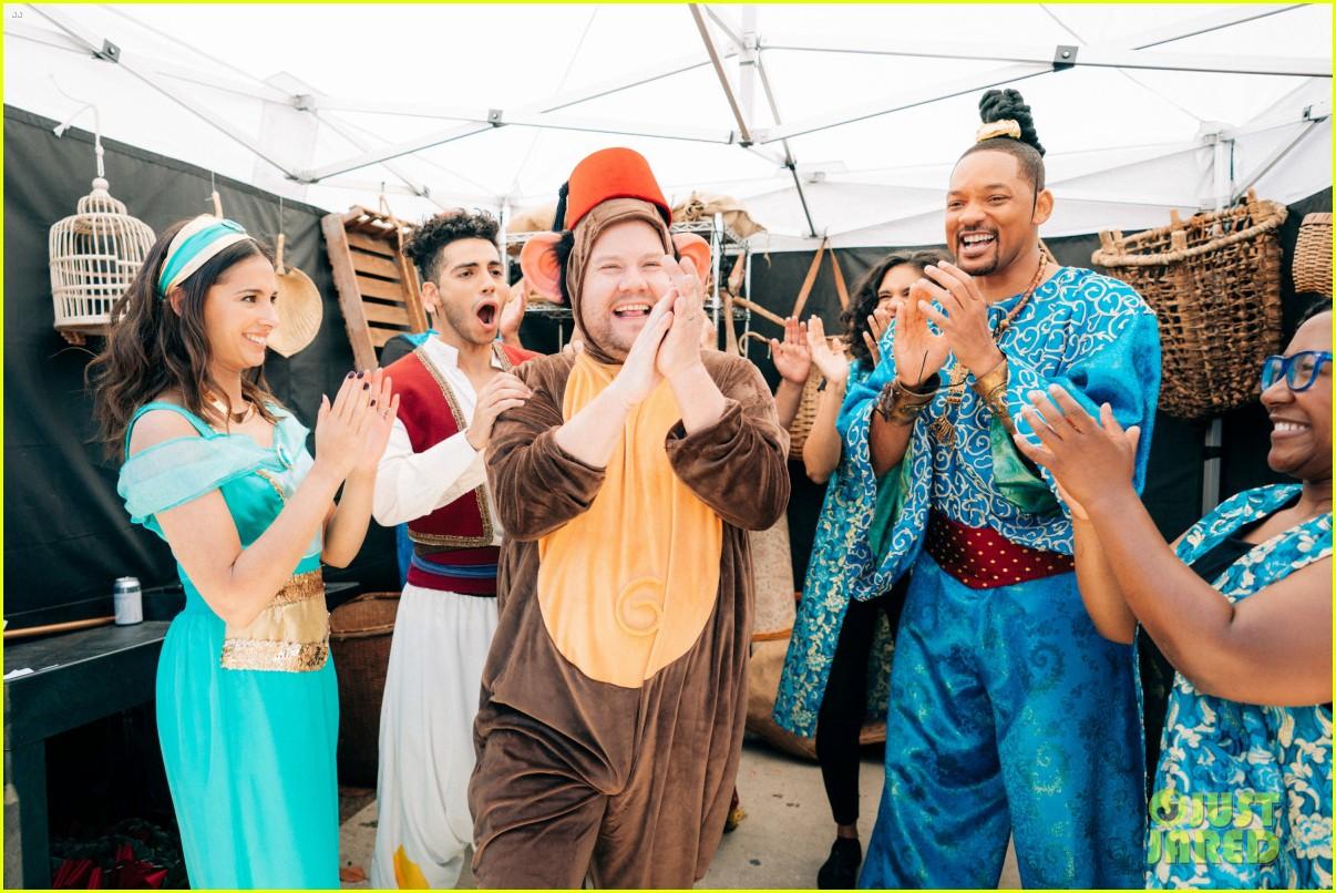 aladdin cast crosswalk musical video 02