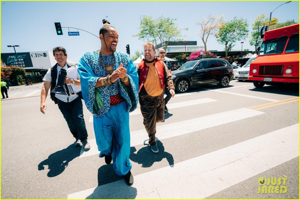 aladdin cast crosswalk musical video 08