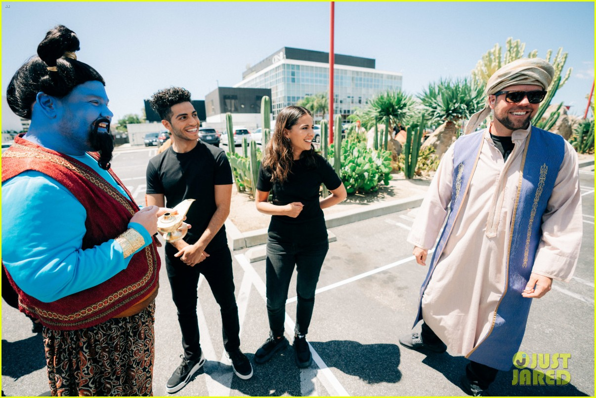 aladdin cast crosswalk musical video 12