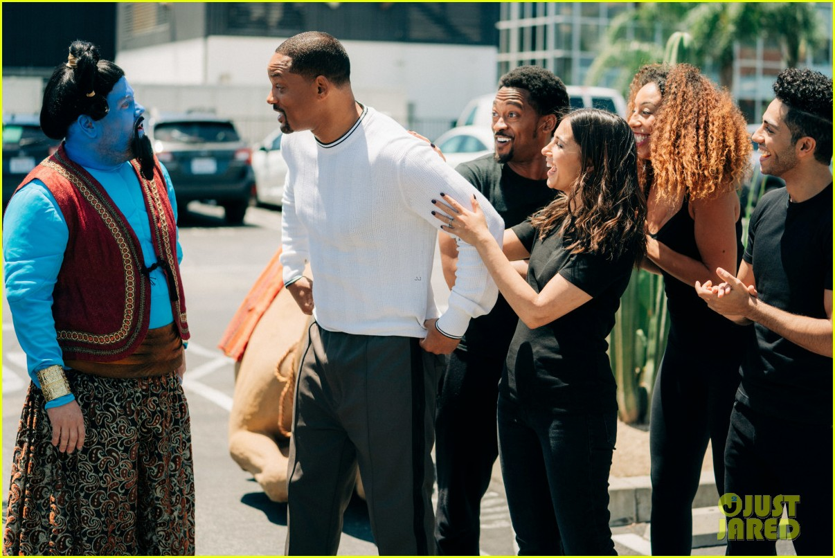 aladdin cast crosswalk musical video 15