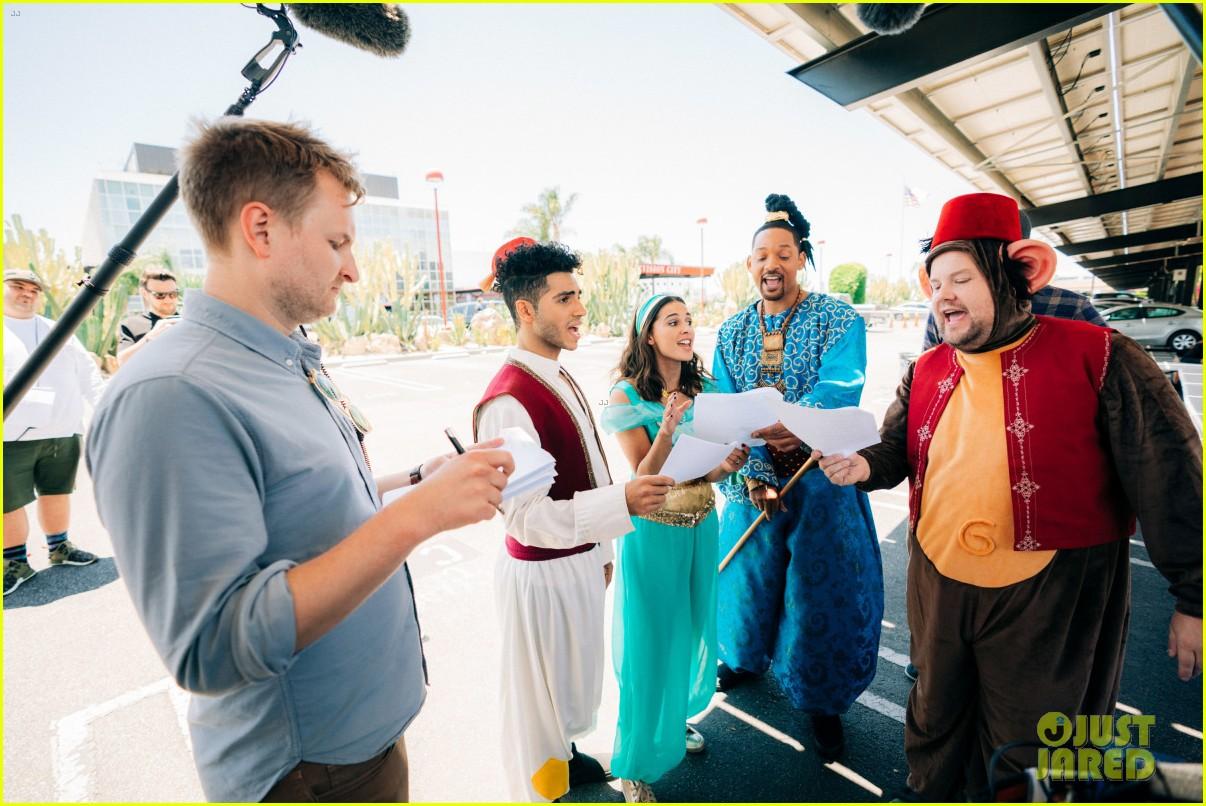aladdin cast crosswalk musical video 22