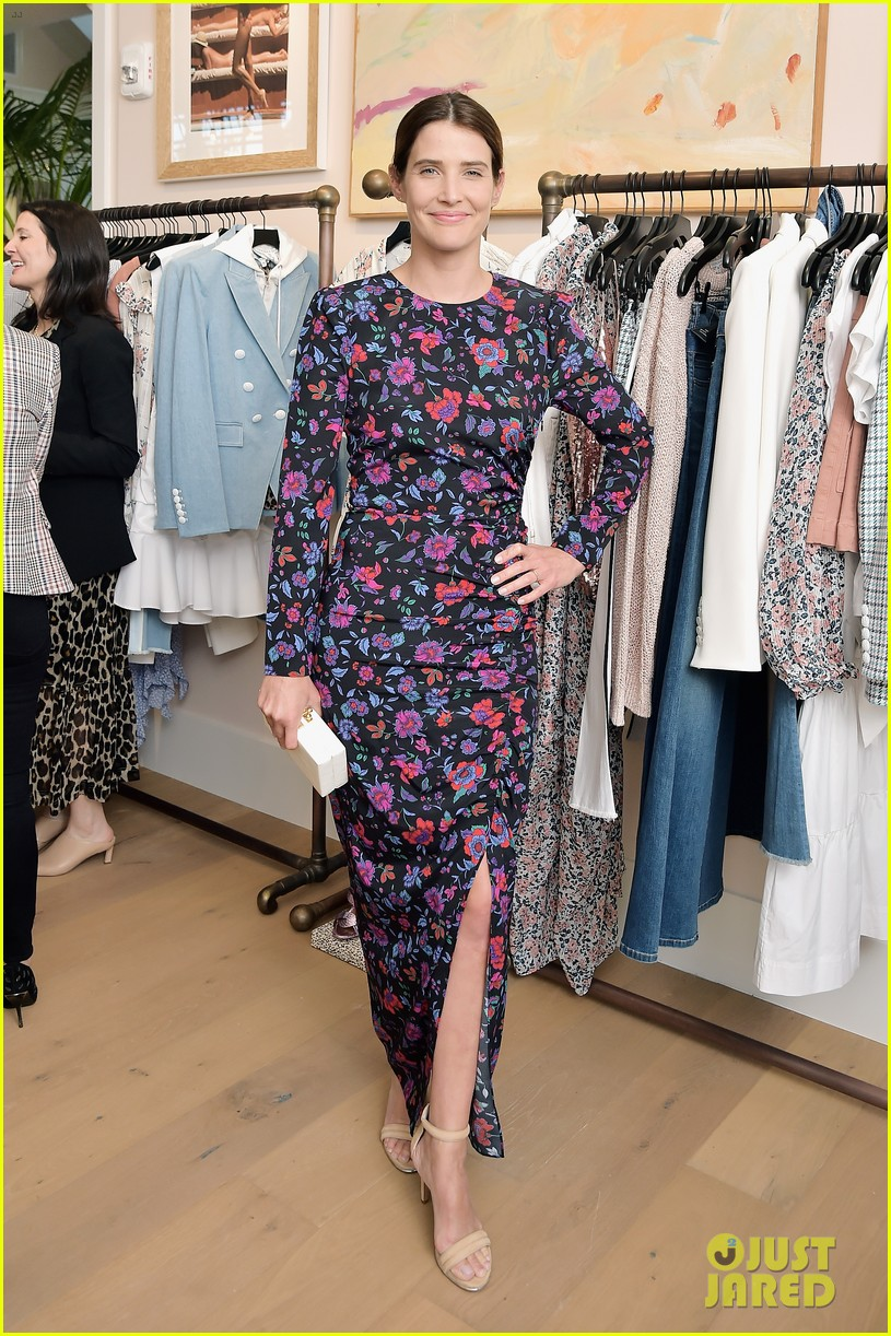 awkwafina and cobie smulders step out in style for veronica beard store opening 02