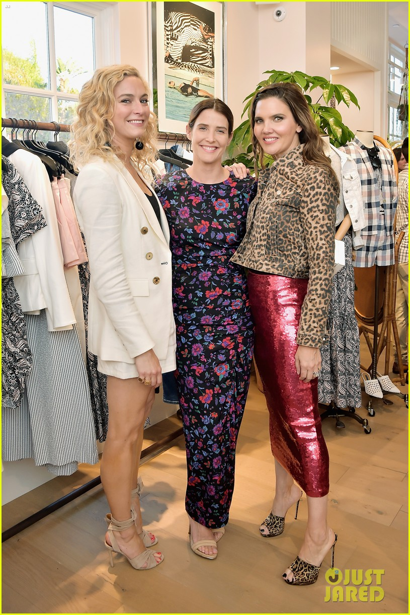 awkwafina and cobie smulders step out in style for veronica beard store opening 18