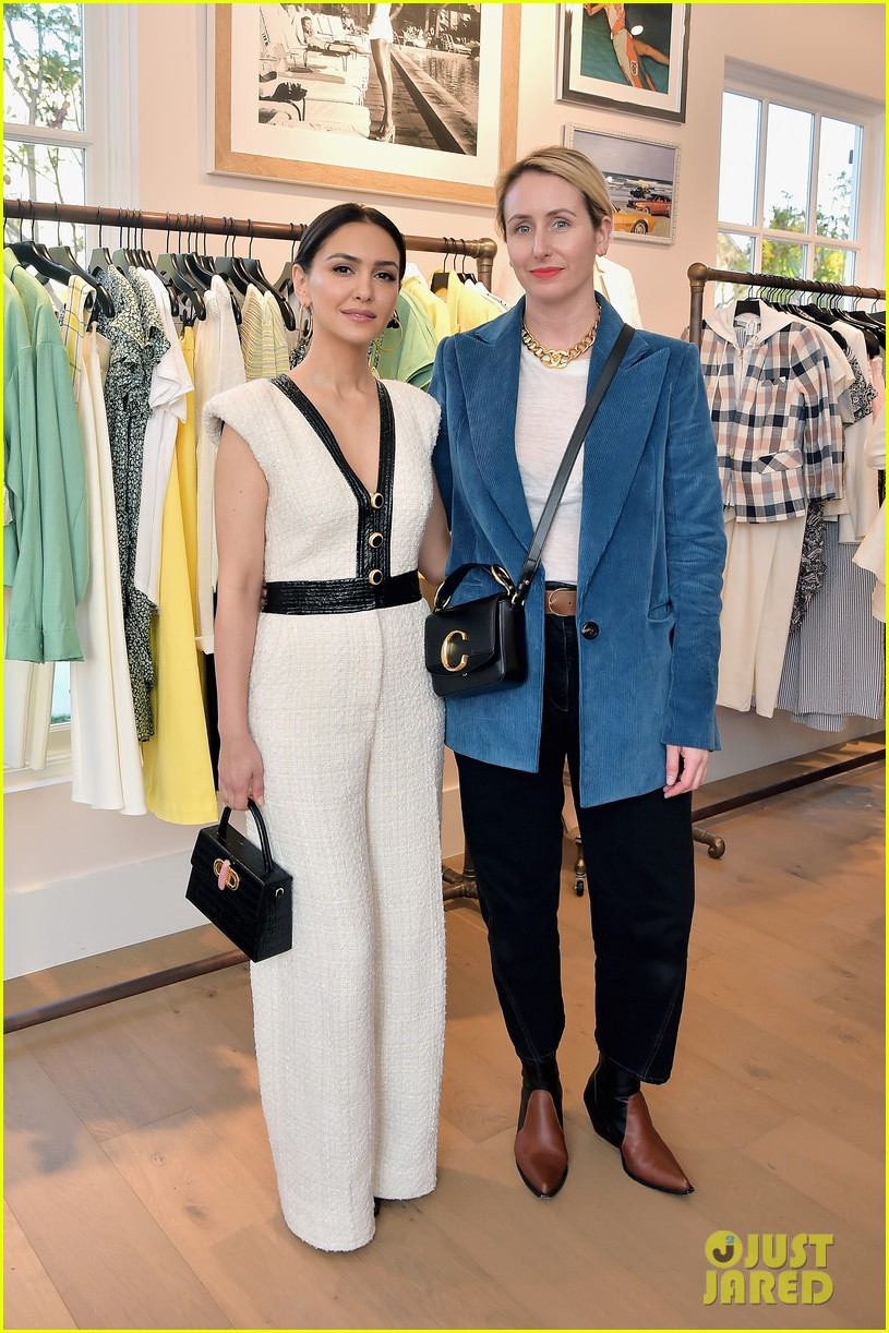 awkwafina and cobie smulders step out in style for veronica beard store opening 314280374
