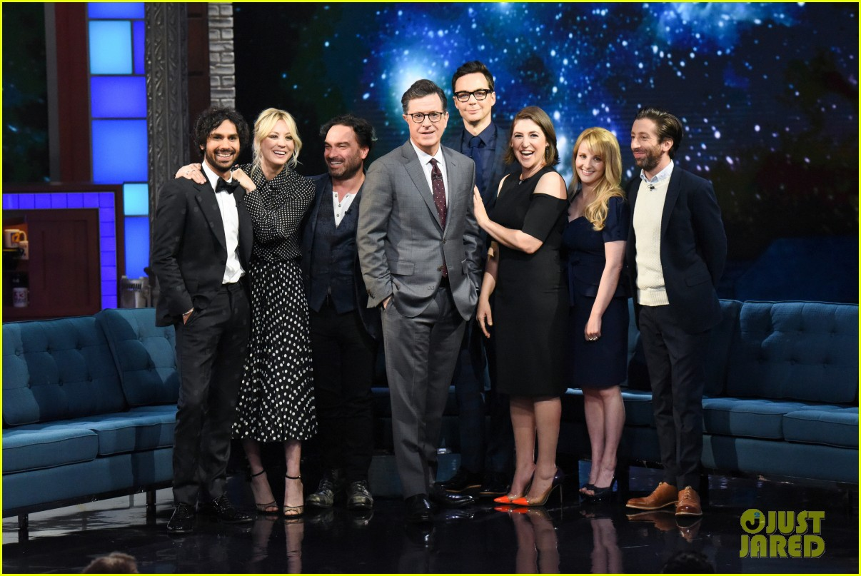 big bang theory cast share behind the scenes stories on late show following series finale 014292862