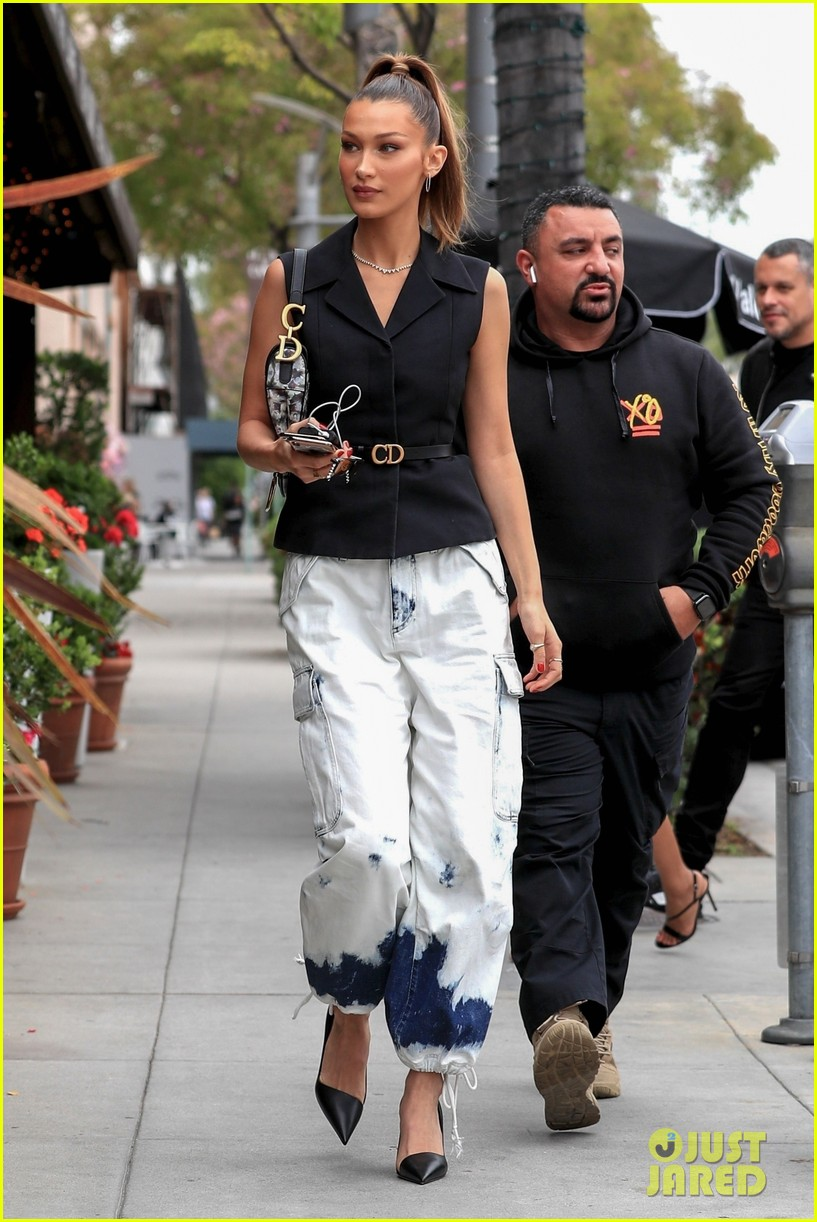 bella hadid struts her way to lunch in beverly hills 03