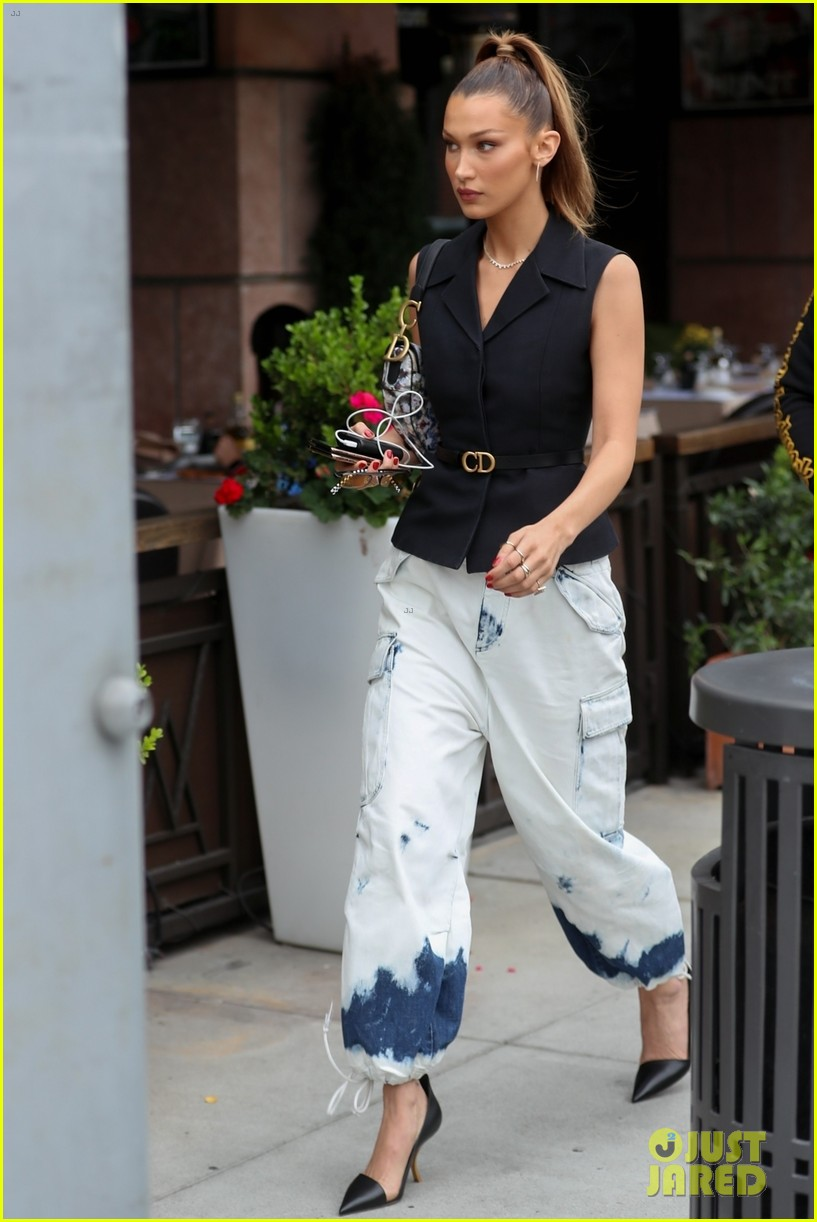 bella hadid struts her way to lunch in beverly hills 05