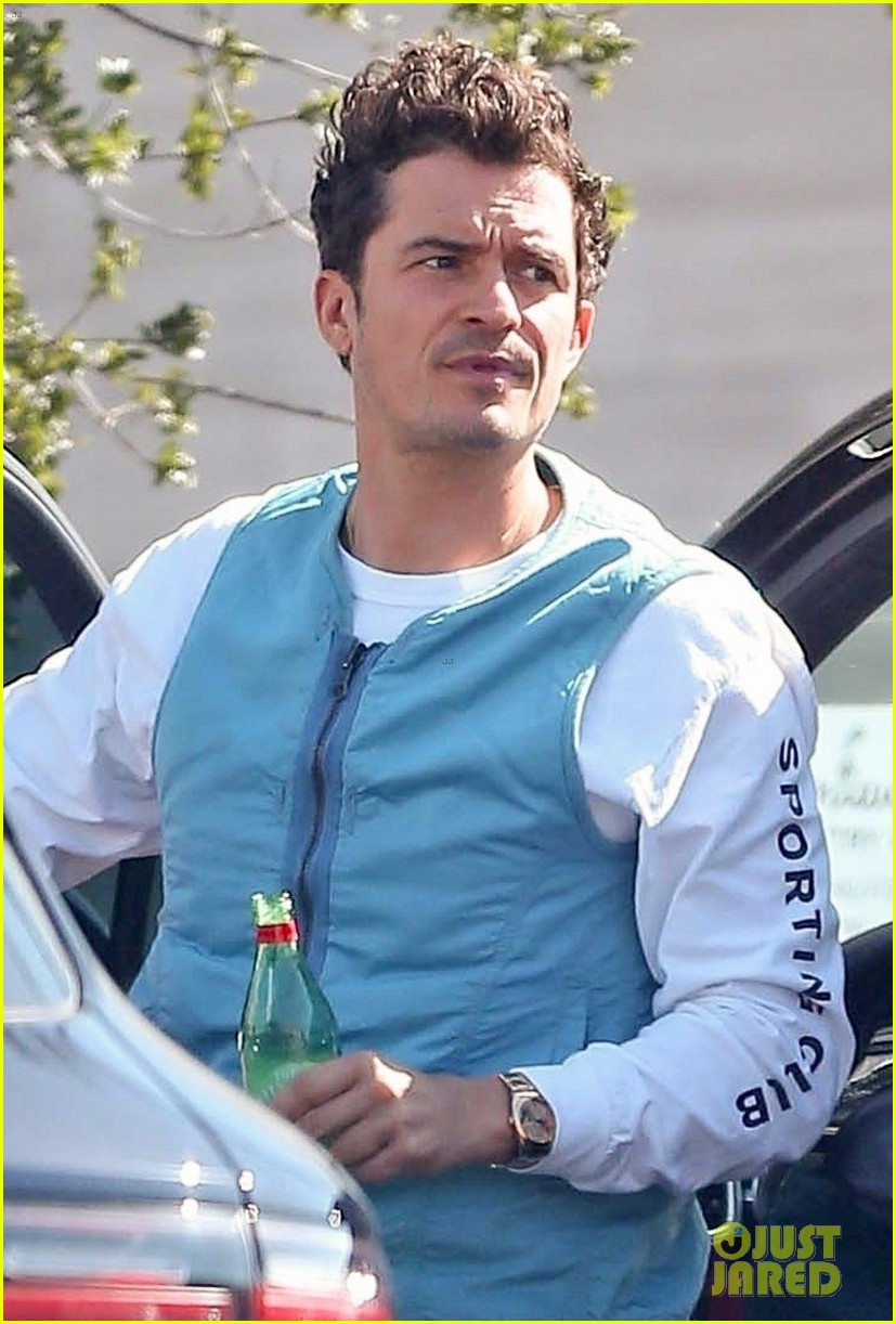 katy perry orlando bloom step out ahead american idol finale 08