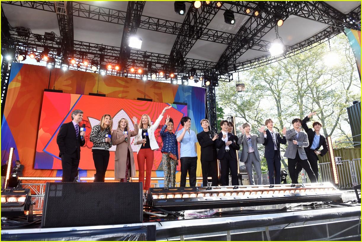 bts perform good morning america summer concert series 384291669
