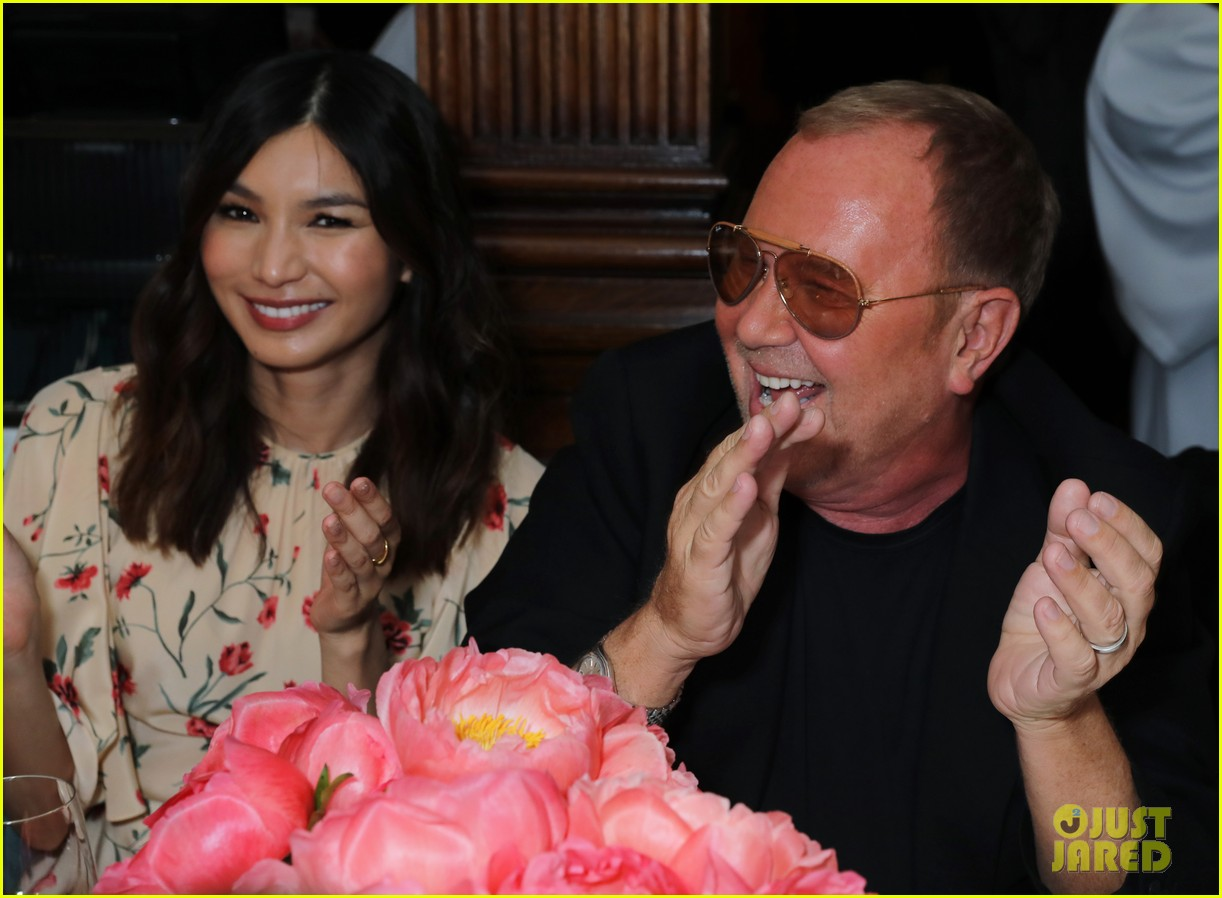gemma chan kate moss michael kors dinner 04