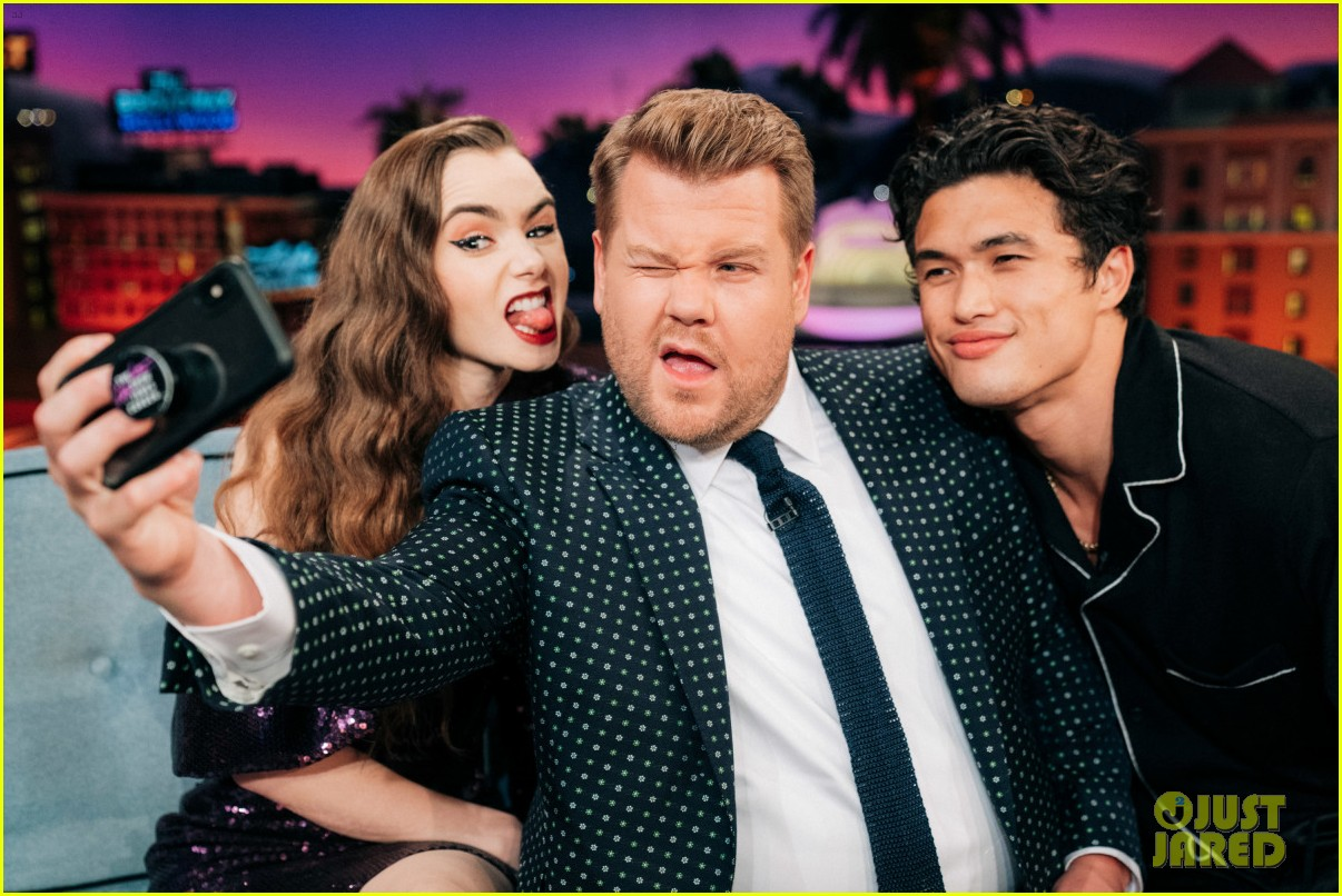 charles melton late late show appearance 044291970