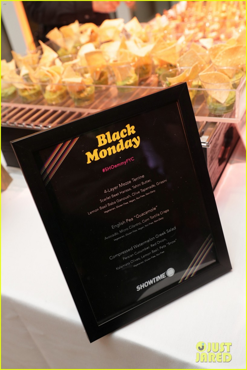 don cheadle regina hall andrew rannells celebrate black monday second season renewal 09