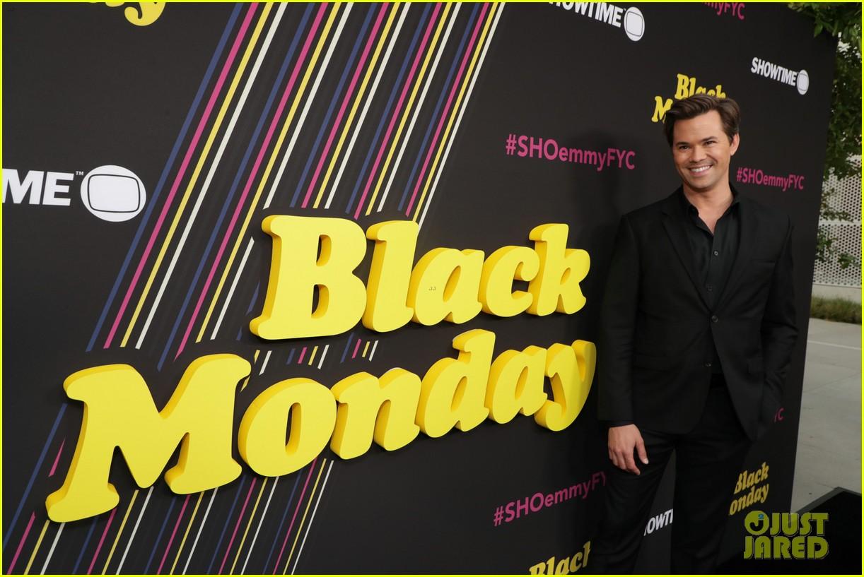 don cheadle regina hall andrew rannells celebrate black monday second season renewal 16