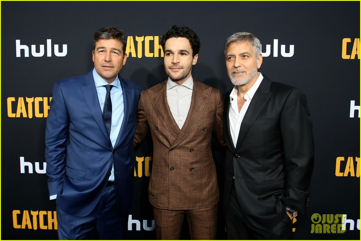 christopher abbott kyle chandler suit up catch 22 premiere 244287432