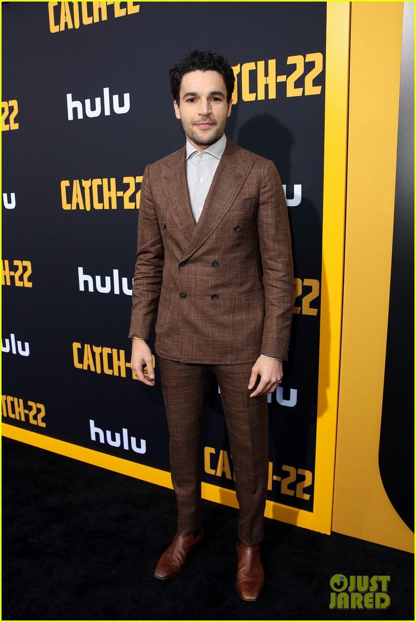 christopher abbott kyle chandler suit up catch 22 premiere 254287433