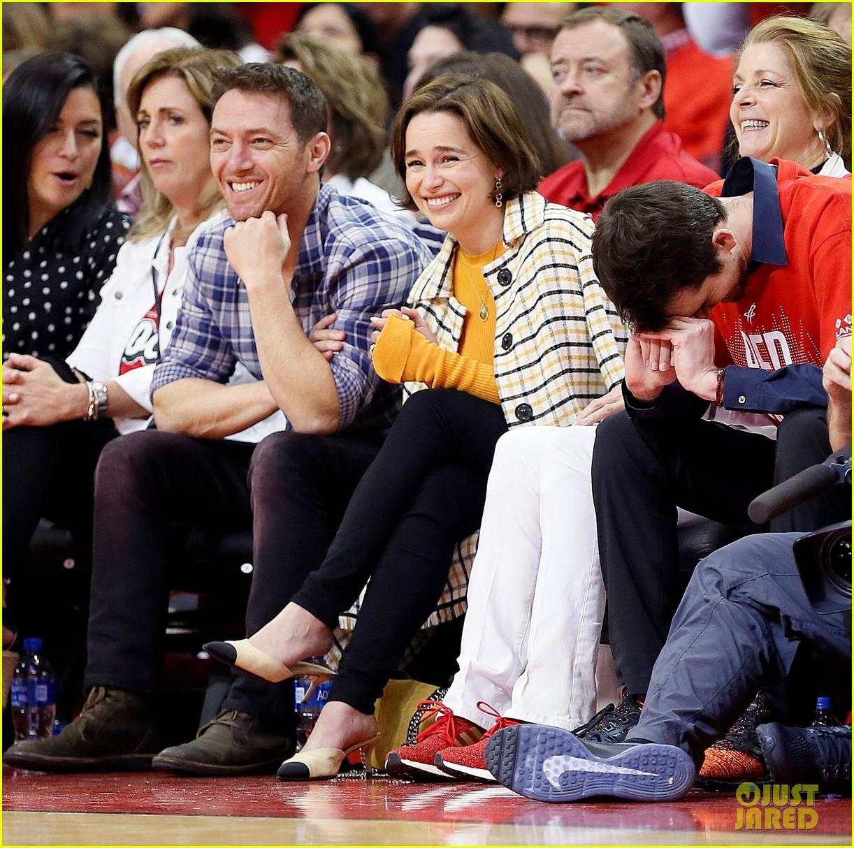 Rockets Vs Warriors Full Game 2019: GOT's Emilia Clarke Treated To Coffee At NBA Game!: Photo