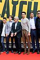 george clooney catch 22 cast hit rome for press 04