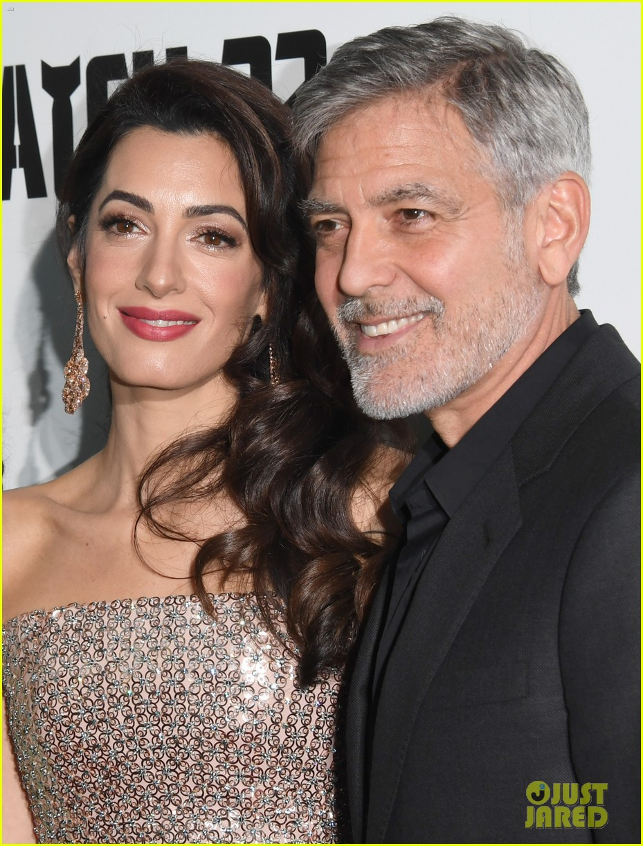 george clooney amal bring mom to catch 22 london 10