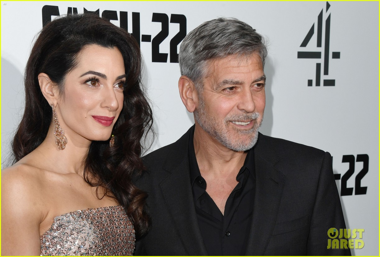 george clooney amal bring mom to catch 22 london 12
