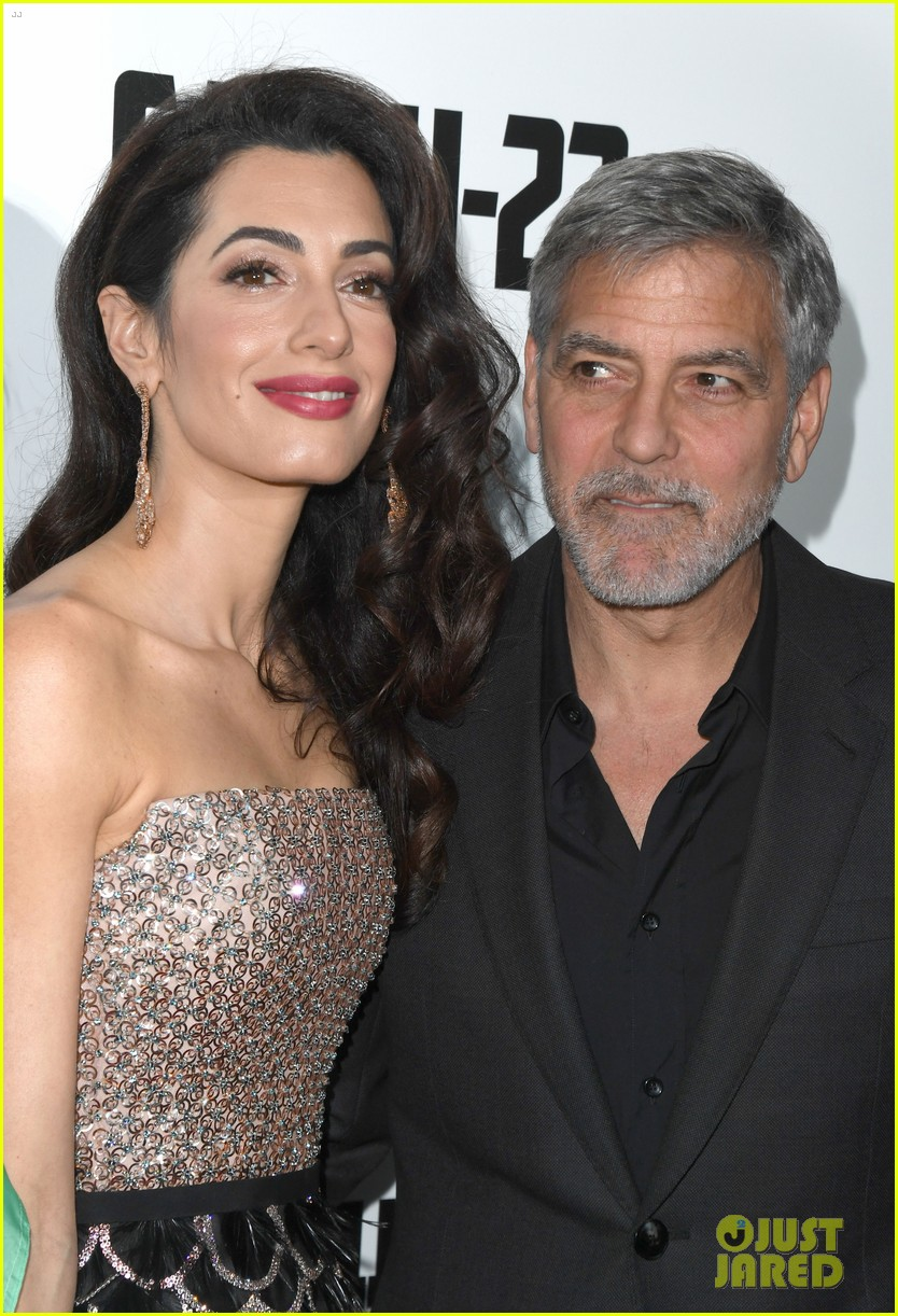 george clooney amal bring mom to catch 22 london 15