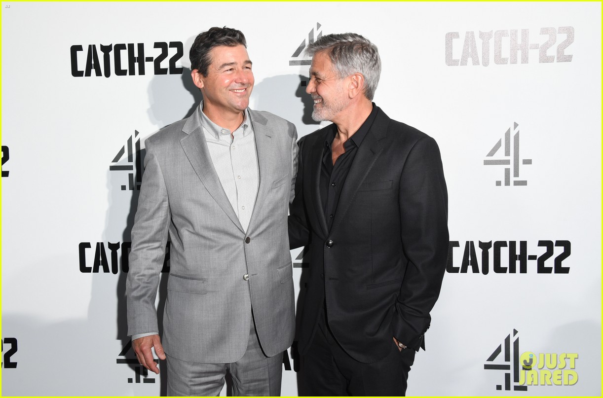 george clooney amal bring mom to catch 22 london 18