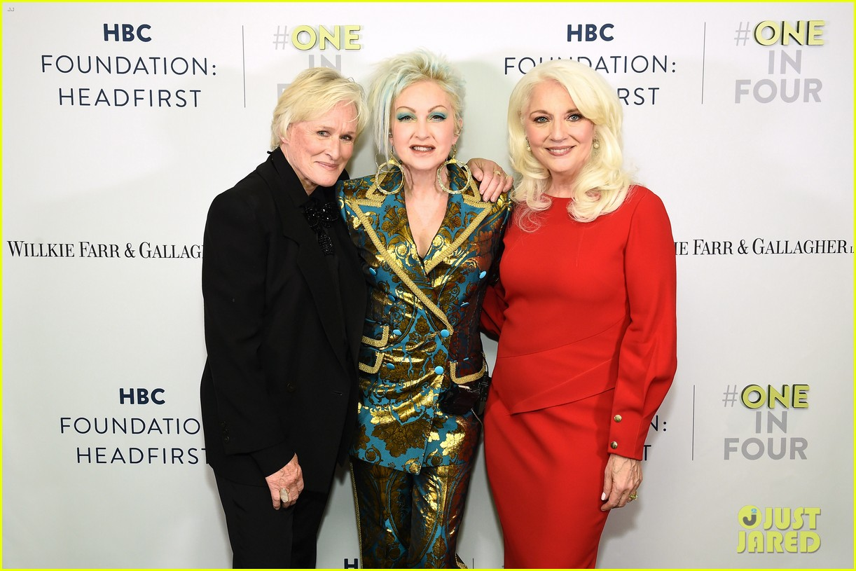 glenn close and lady gagas mom hang out again 13
