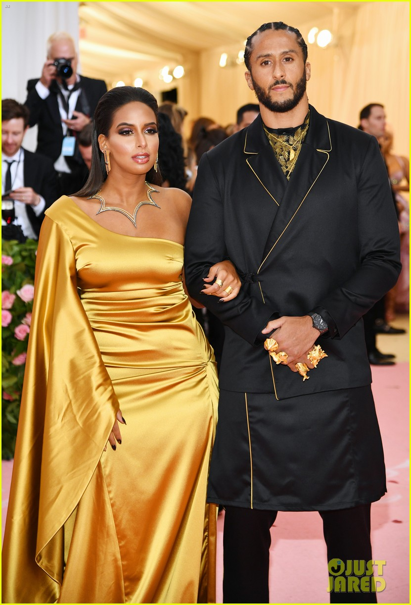 Image result for Nessa and Colin Kaepernick met gala 2019