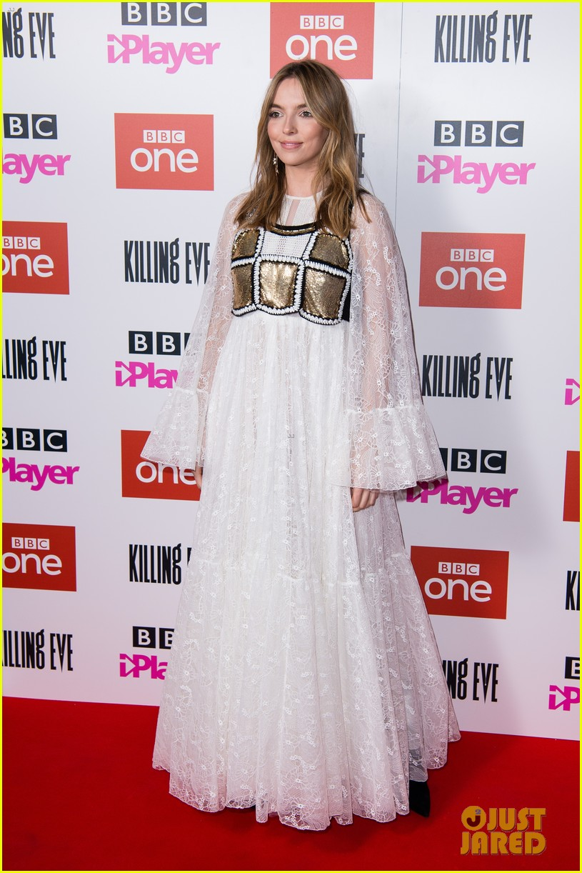 jodie comer joins killing eve cast at season 2 premiere in london 014291498