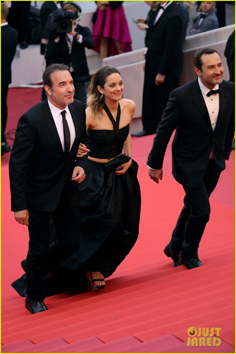 Marion Cotillard Supports Partner Guillaume Canet At La